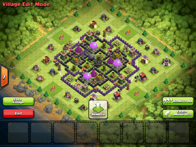 Aldea th8 farming